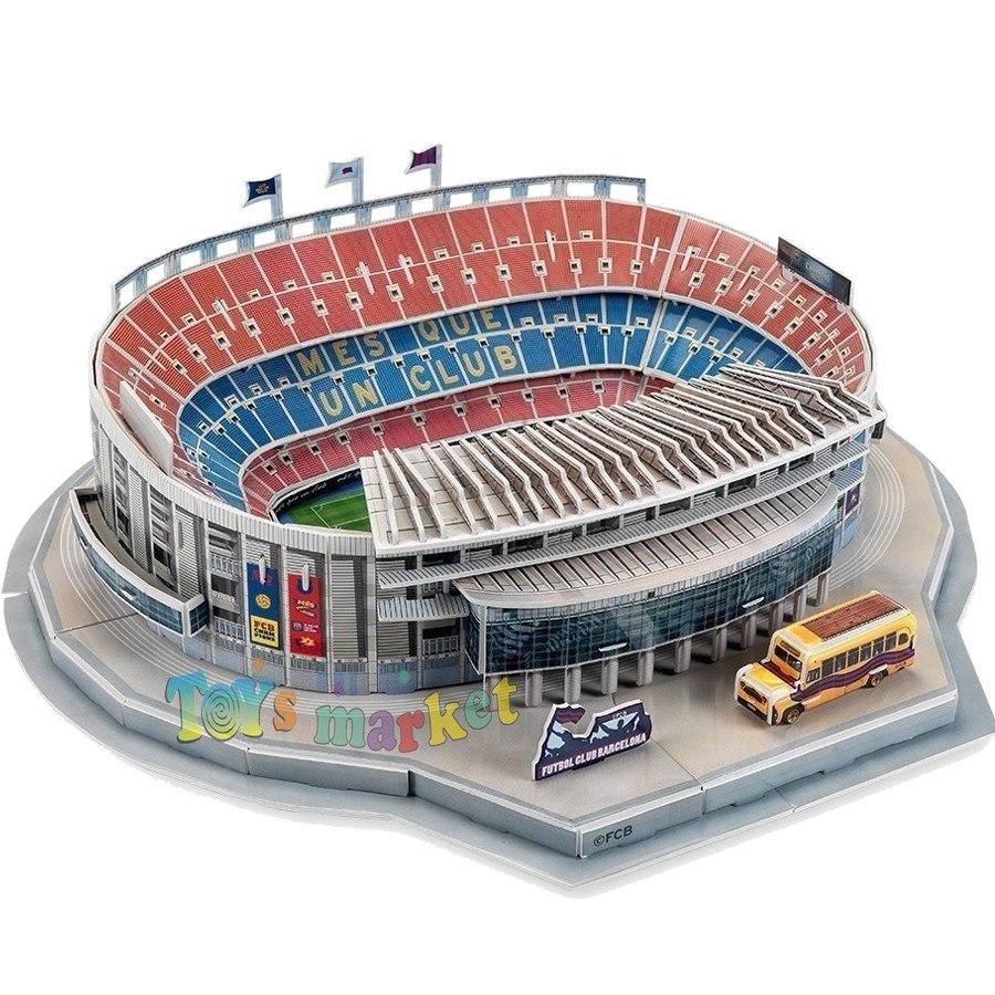 Estadio Del Barcelona Puzzle 3d Maqueta Para Armar Nanostad -   599 ... 36bf8486a8ad0