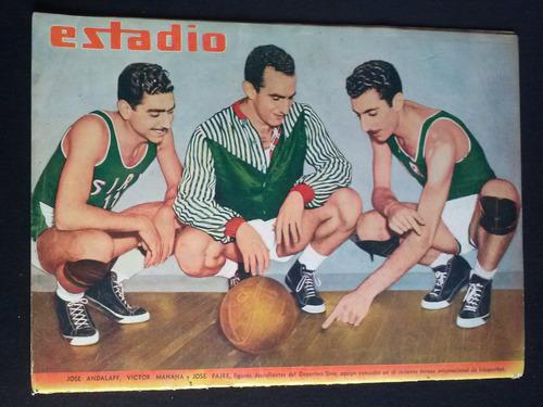 estadio n° 1309 hugo nuttini 16 abr 1949