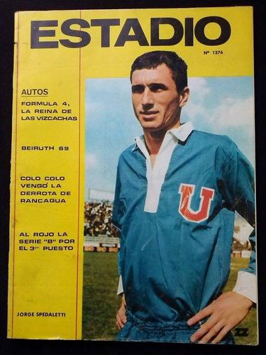 estadio n° 1376 13 de nov de 1969 jorge spedaletti