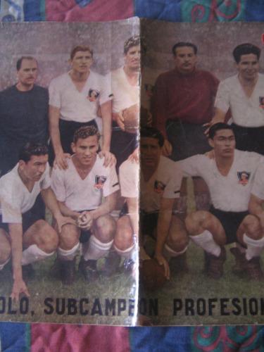 estadio n° 508, 7 febr 1953 colocolo campeon  1952