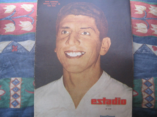 estadio n°1140, 1 abril 1965 manuel gonzalez audax italiano