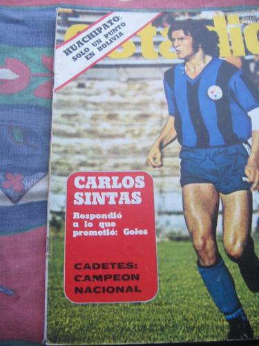 estadio n°1648, 11 mar 1975 santiago morning campeon ascenso