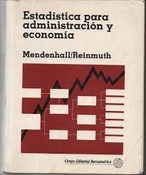 estadistica para administracion y economia1978  mendenhall