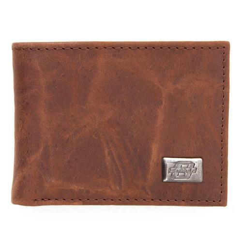 estado de oklahoma bi-fold wallet
