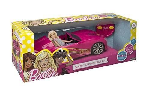estado juguete nikko rc barbie vehículo convertible