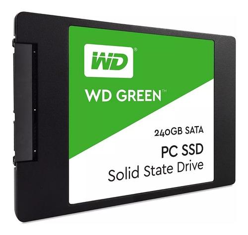 estado solido ssd western digital green 240gb wd disco duro