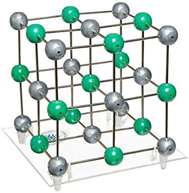 estados científico cmsscl cloruro de sodio de cristal modelo