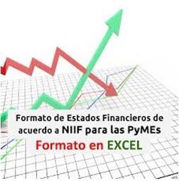 estados financieros crédito bancario + notas+ formatos excel