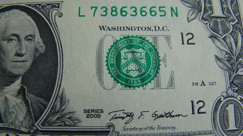 estados unidos - 1 cédula original de 1 dólar ano 2013 - fe