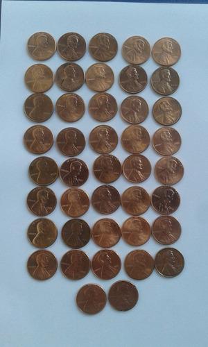 estados unidos - 1 cent - 42 moedas