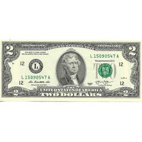 Estados Unidos 2 Dolares Año 2013 Sin Circular - Palermo