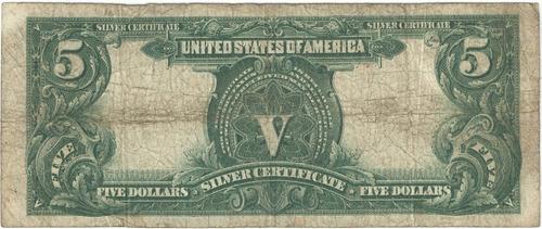 estados unidos 5 dolares indio 1899 muito rara ce007