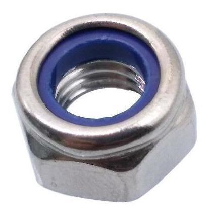 4 mm Paquete de 200 tuercas peque/ñas DIN 985 de nailon M4