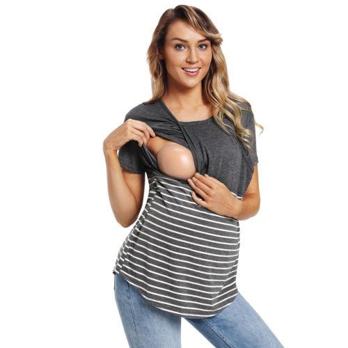 más baratas 4e314 ae906 Estados Unidos Mujeres Blusas Maternidad Blusas Embarazada