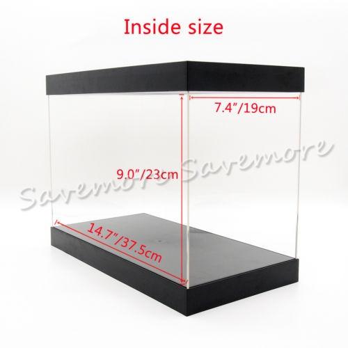 estados unidos plexiglás 14,7  gran acrílico plástico vitrin