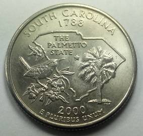 Estados Unidos - Quarter Dollar - Año 2000p - South Carolina