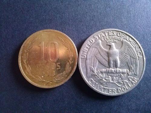 estados unidos quarter dollar niquel 1978