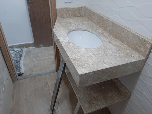 estalacão de mármore e porcelanato