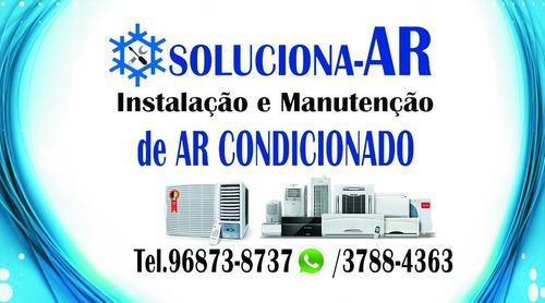 estalação e manutenção troca de peças de ar condicionado