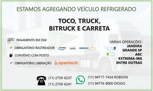 estamos agregando refrigerado! toco-truck-bitruck-carreta