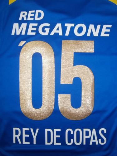 estampado boca juniors '05 rey de copas 2005 original