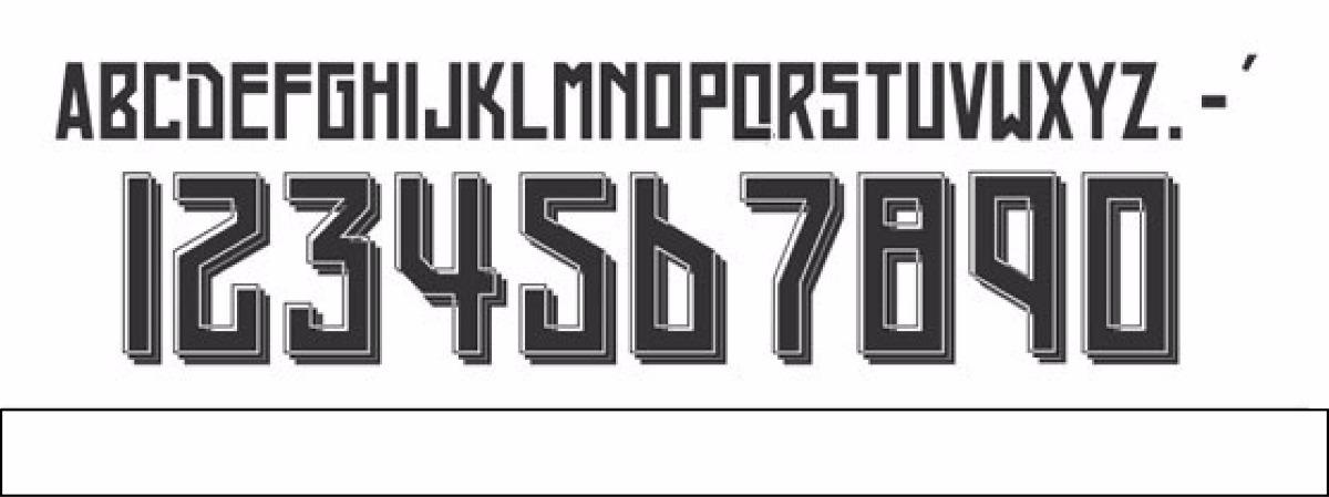 7522adc59a32e Estampado De Nombres Números Y Logotipos En Vinil -   18.00 en ...
