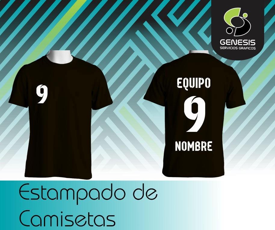 estampado de número - nombre - equipo en camisetas de fútbol. Cargando zoom. 4d3b383c1cc1f