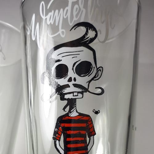 estampado, grabado, decorado de vasos, copas, growlers y más