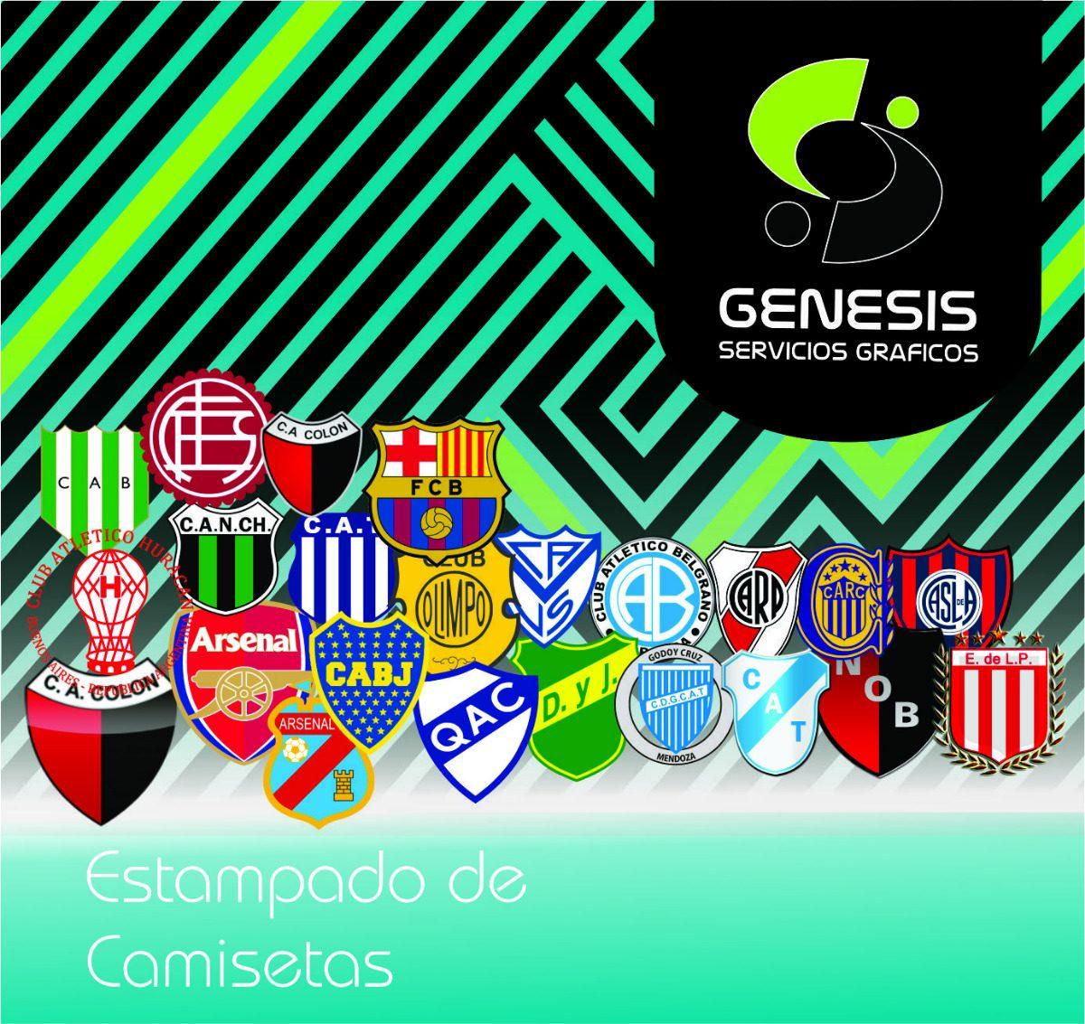 Estampado De Número - Nombre - Equipo En Camisetas De Fútbol -   120 ... 8307dbd8a2164