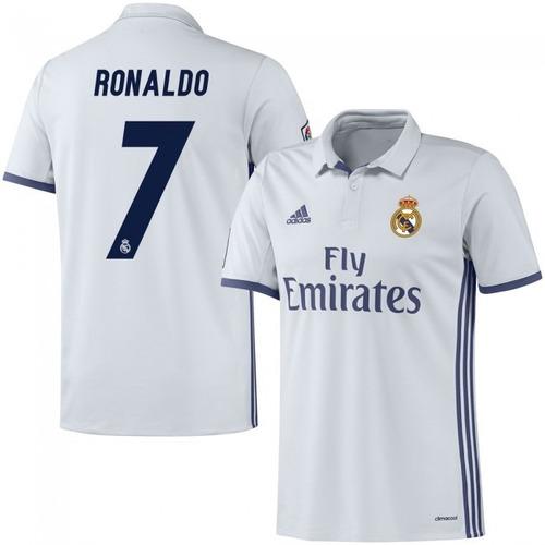 estampado numero real madrid 2016 2017 adidas