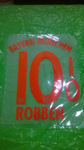 estampado original robben camiseta bayern munich 2013-14