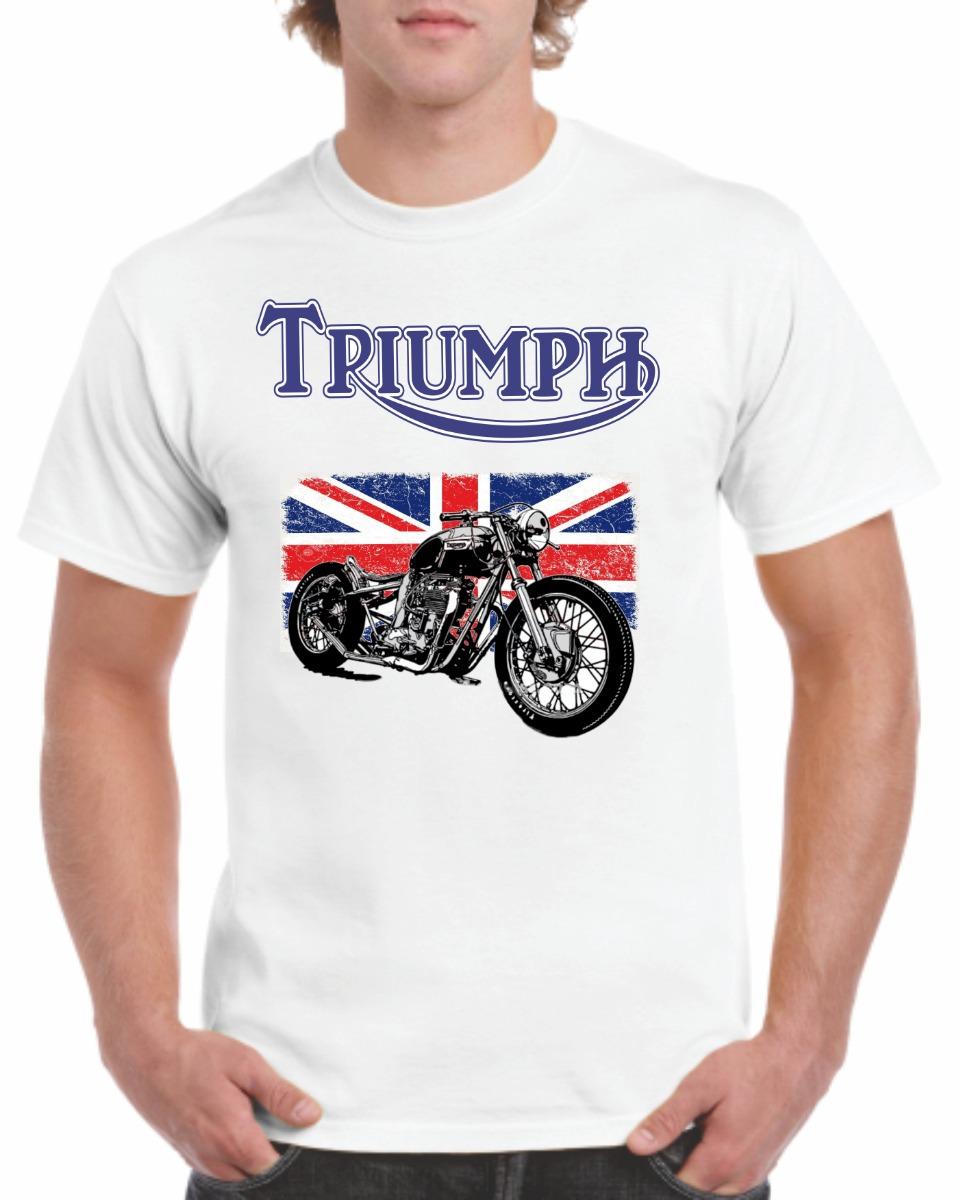 Estampado Playeras Triumph Harley Davidson Indian -   185.00 en ... f5a7314d10a71