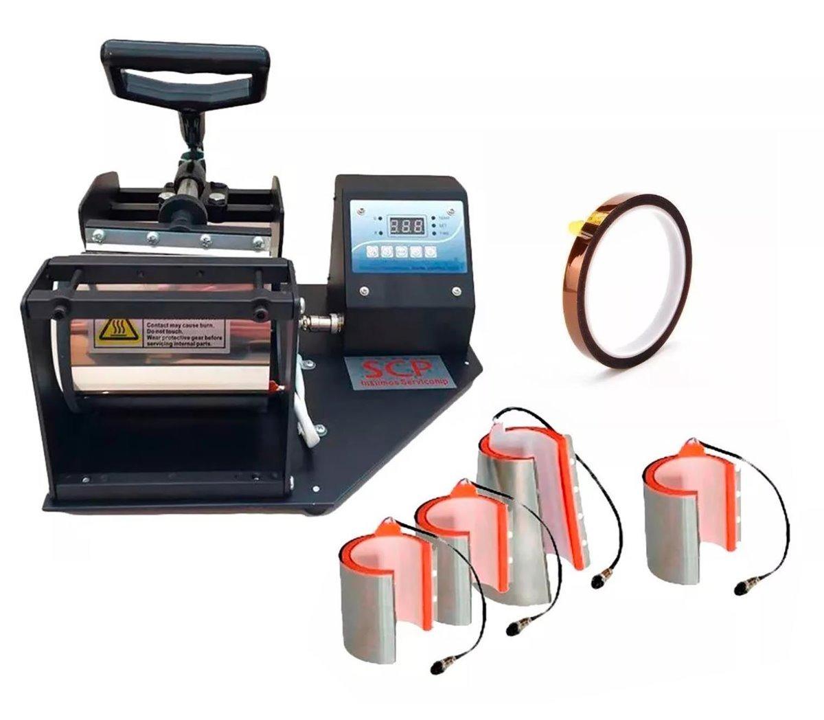 estampadora sublimadora de tazas 4 en 1 + cinta térmica. Cargando zoom. abd8dabf7e3