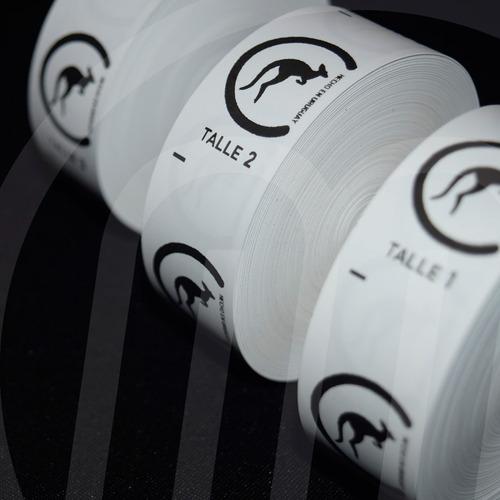 estampados, etiquetas de composición, llaveros, adhesivos