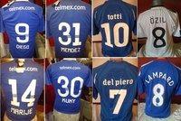 estampados originales del futbol mexicano-europeo........