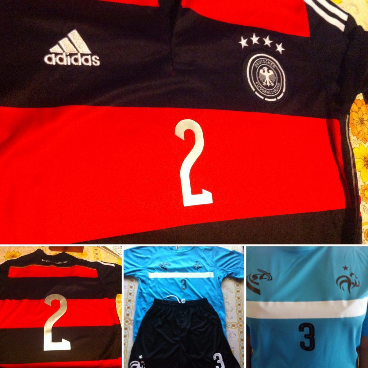 Estampados Para Camisetas De Futbol -   1.000 en Mercado Libre f18ee2d0cd7b9
