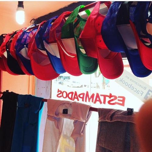 estampados personalizados remeras gorras tazas