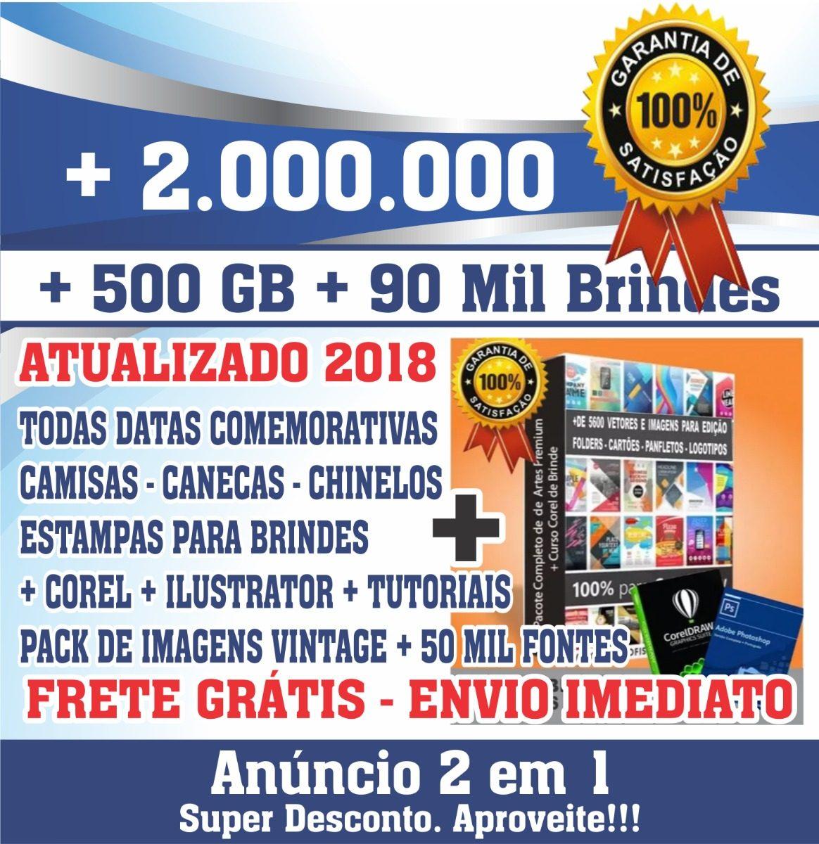 bf53126a5aabf Estampas Camisetas Artes Vetores Sublimação + Pacote Premium - R  24 ...