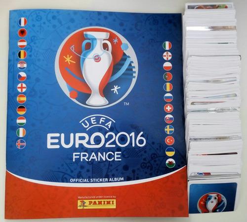 estampas eurocopa francia 2016 panini 100% originales.