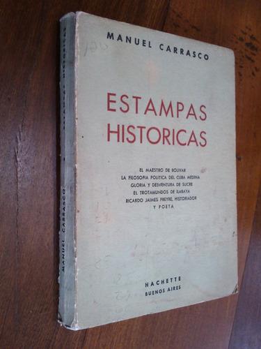 estampas históricas - manuel carrasco