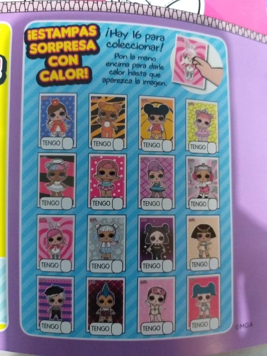 PANINI-l.o.l surprise! 90a+90b Sticker Nº 90