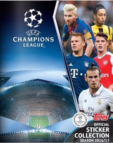 estampas sueltas champions league 2016-17 topps