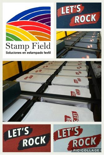 estampería estampados serigrafía armadas y desarmadas
