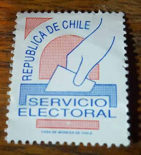 estampilla de eleccion chile
