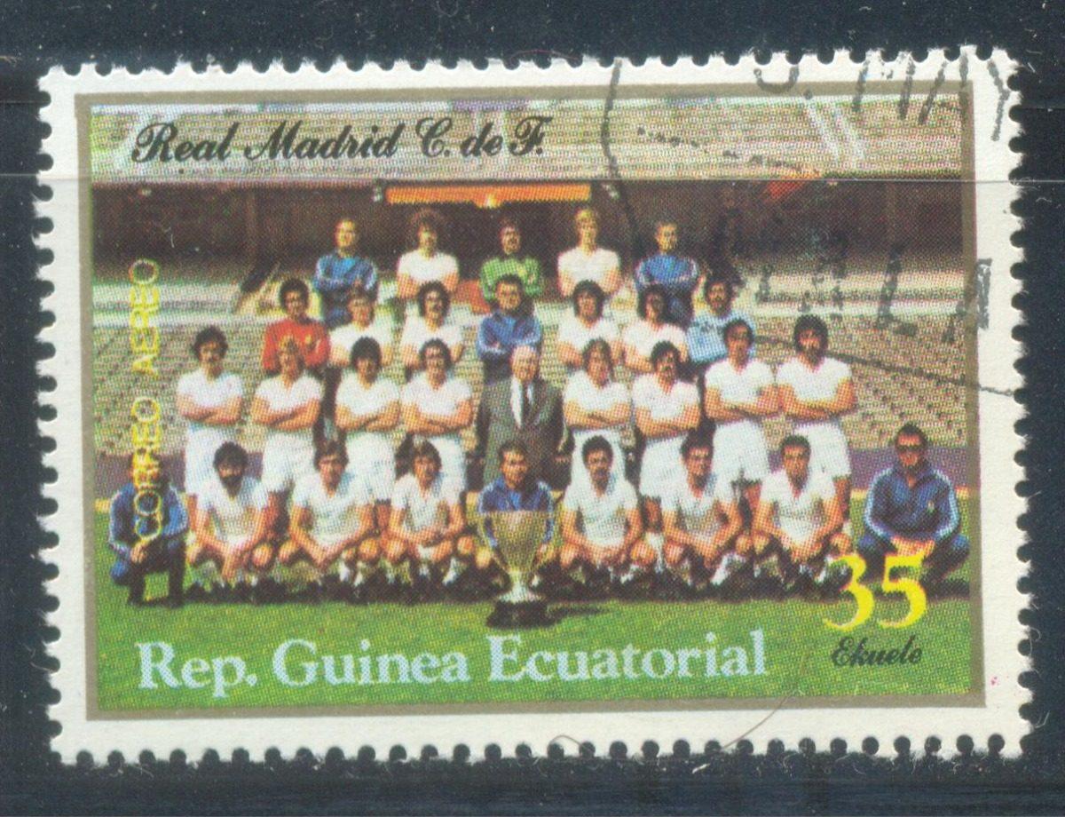 Estampilla Guinea Ecuatorial Futbol Club Real Madrid -   25.00 en ... 33eb1f6071e7d