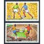 Estampillas Djibouti Serie 2 Val. 1986 Mundial Fútbol México