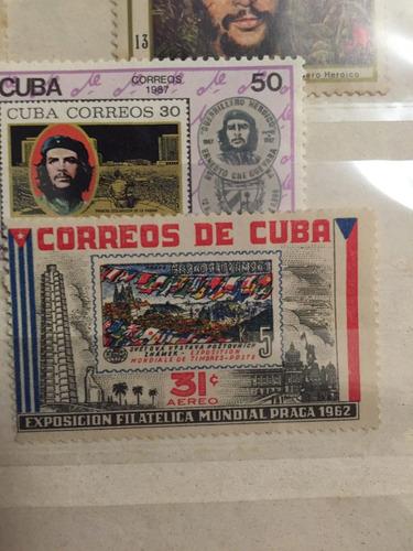 estampillas cubanas