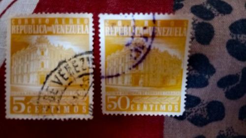 estampillas de venezuela antiguas 315 estampillas desde 1956
