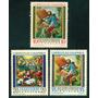 Estampillas Colombia Serie 1962 Pinturas San Isidro Labrador