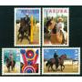 Estampillas Aruba Serie De 4 Valores 1995 Ecuestre- Caballos